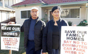Sam and Monika Charan leading fight against government eviction from their home in Riverwood neighborhood in Sydney.