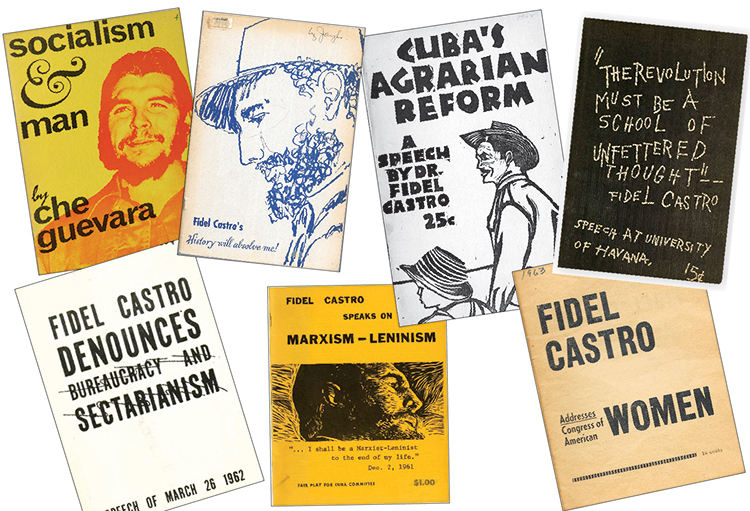 Fair Play for Cuba Committee published, distributed inexpensive pamphlets of speeches by leaders of Cuba's socialist revolution, eyewitness accounts of steps forward by working people.