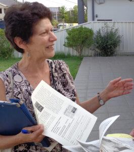Linda Harris, Communist League candidate for Canterbury-Bankstown Council.