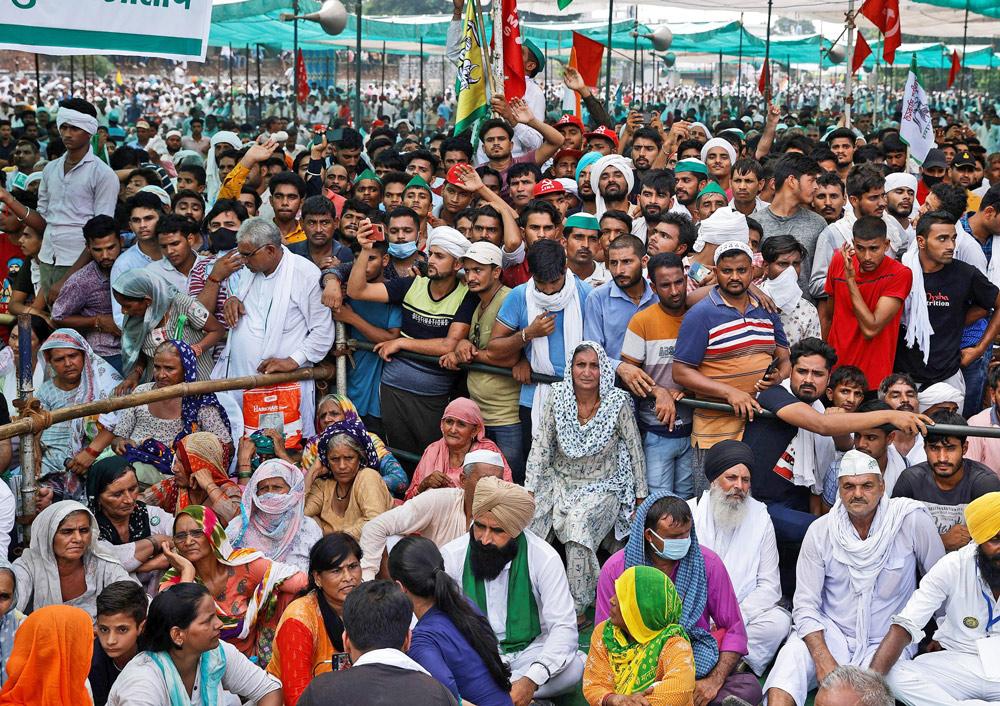 Massive rally demands India gov't repeal anti-farmer laws