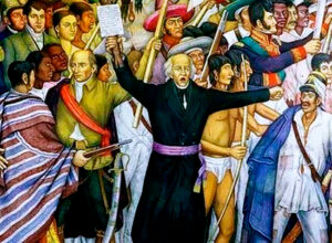 Mexico's fight against colonial rule launched in 1810