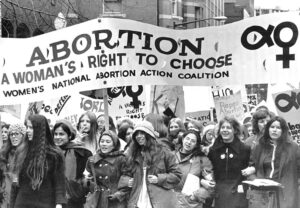 Some 3,000 joined first national march for abortion rights in Washington, D.C., Nov. 20, 1971.